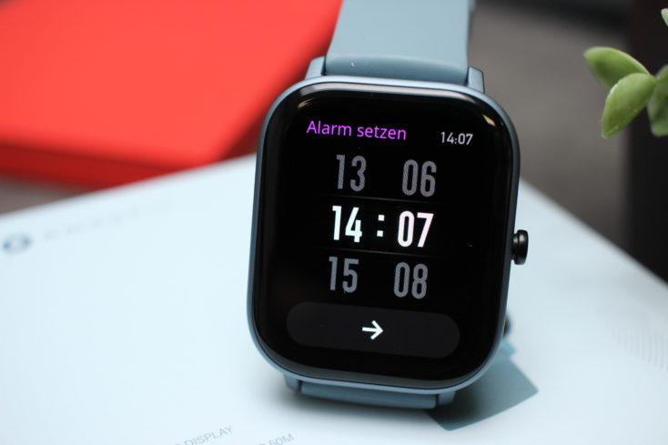 Huami Amazfit GTS Smartwatch Alarm Clock