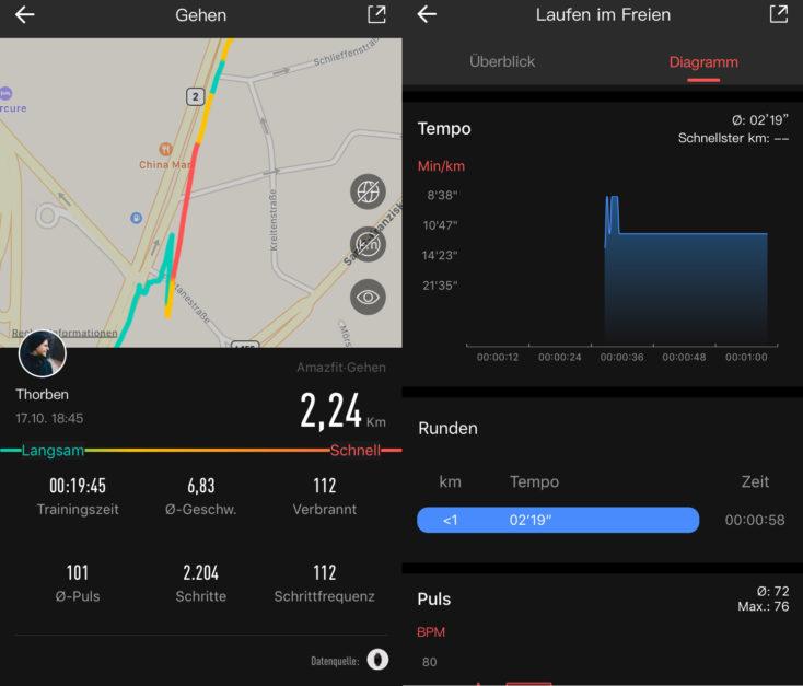 Huami Amazfit GTS Sports Modes GPS