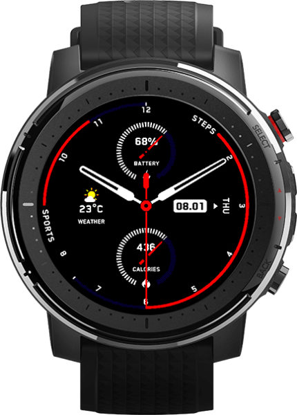 Huami Amazfit Pace 3 Smartwatch Watchface