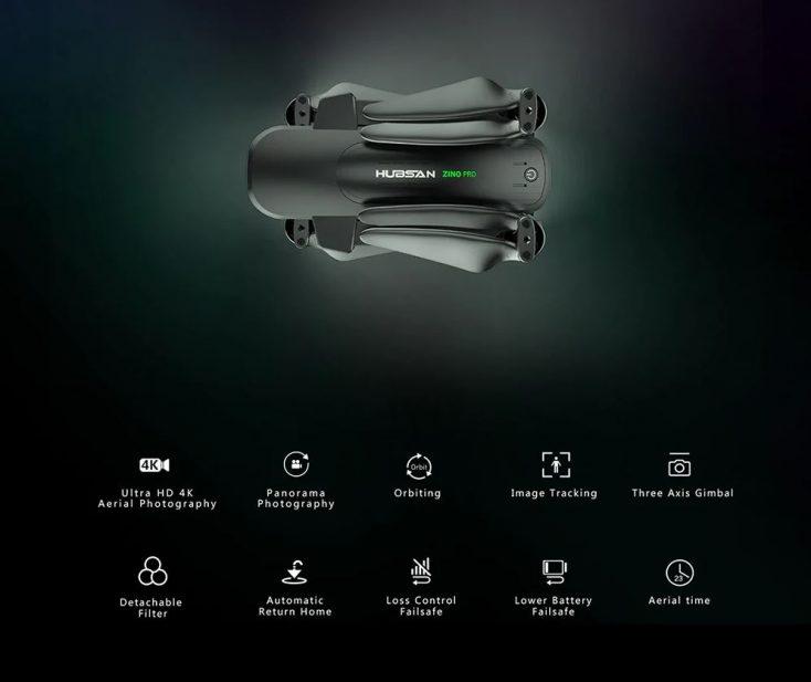 Hubsan Zino Pro Drone technical specs