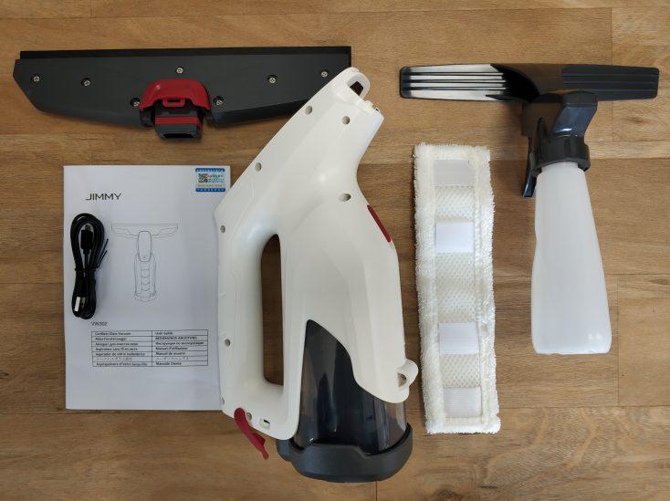 Jimmy VW032-1 Window wiper Scope of supply