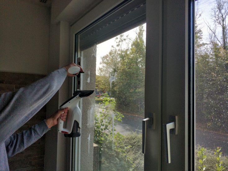 Jimmy VW032-1 window cleaner test