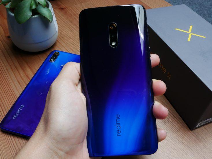 Realme X Smartphone backside