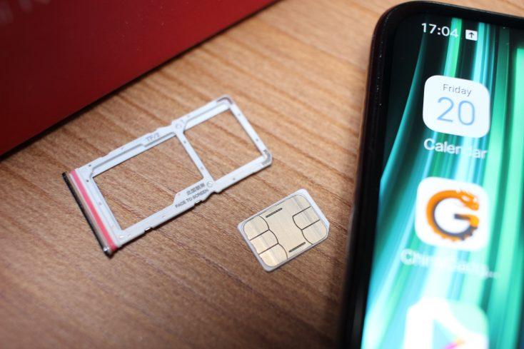 Redmi Note 8 Pro SIM slot