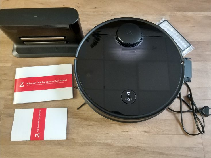 Roborock S4 vacuum robot Scope of delivery