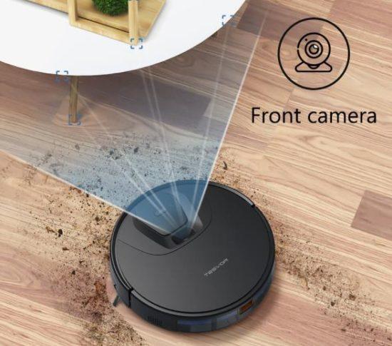 Tesvor T8 vacuum robot Room recognition Navigation