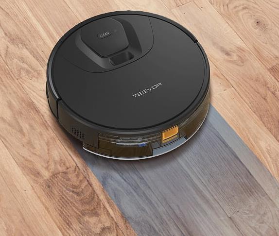 Tesvor T8 vacuum robot Wiping function