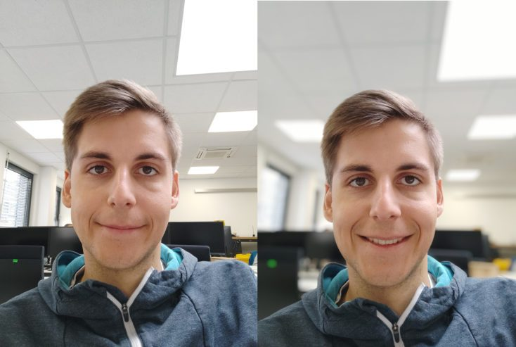 Xiaomi Mi 9T Pro Front Camera Test Photo Portrait Comparison