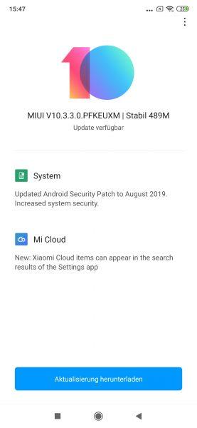 Xiaomi Mi 9T Pro MIUI 10