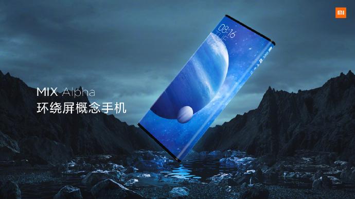 Xiaomi Mi Mix Alpha Concept