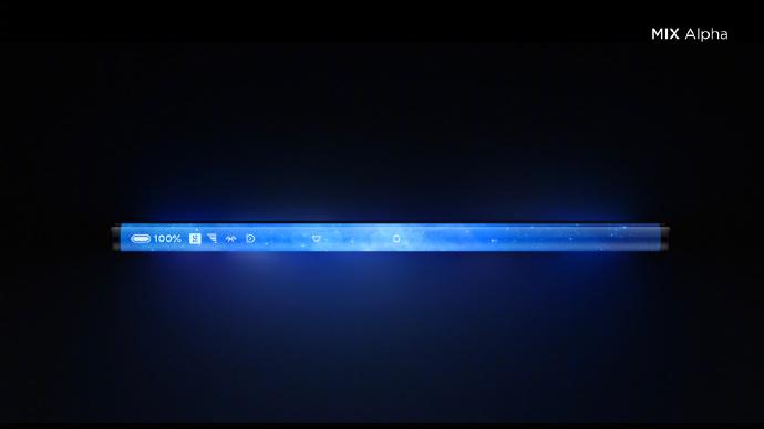 Xiaomi Mi Mix Alpha Side Display