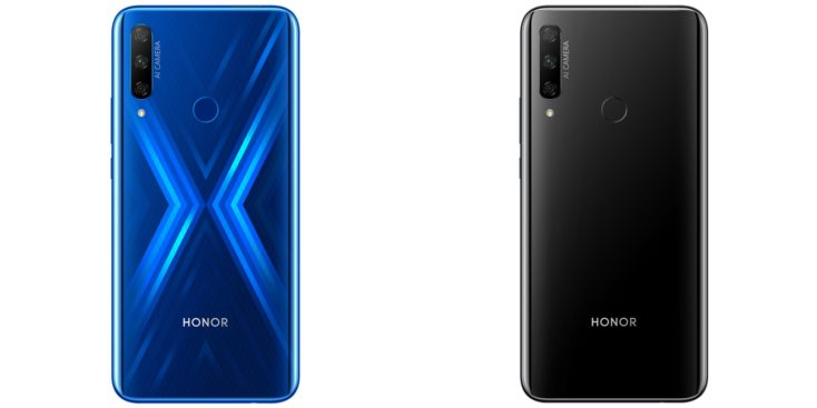 HONOR 9X Sapphire Blue black