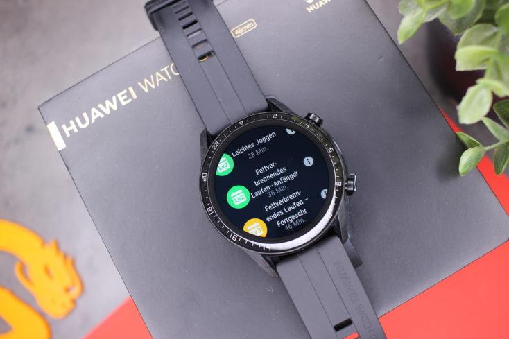 Huawei Watch GT 2 Running Courses
