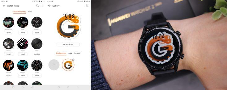 Huawei Watch GT 2 Watchfaces
