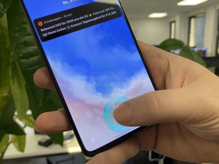OnePlus 7T Fingerprint Sensor