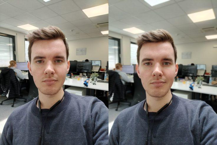OnePlus 7T Office Selfie Bokeh