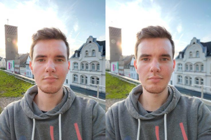 OnePlus 7T Selfie Roof Bokeh