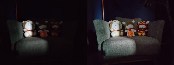 OnePlus 7T Ultra-wide night mode