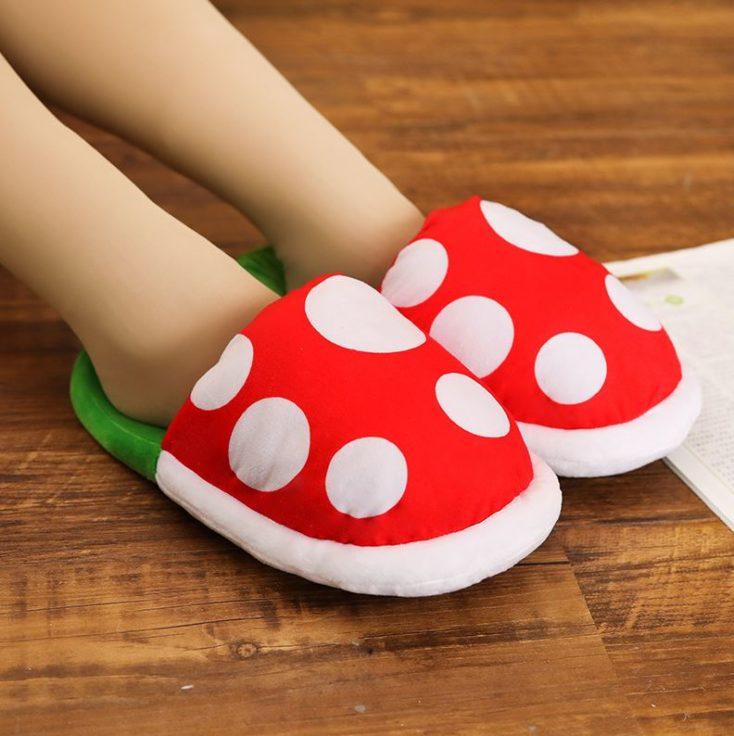 Piranha slippers for little feet