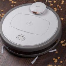 Puppyoo R6 vacuum robot top