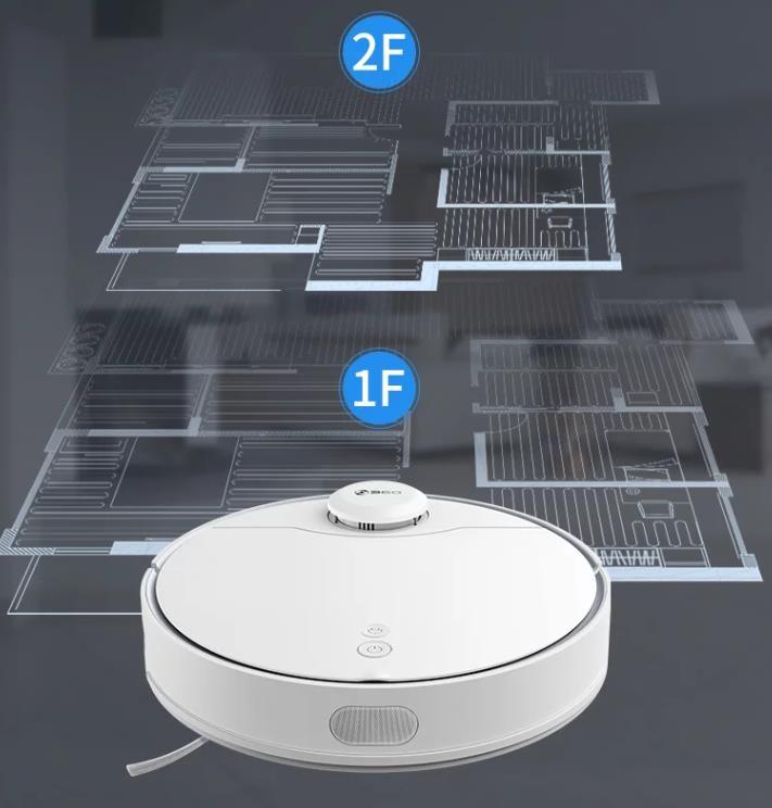 Qihoo 360 X90 vacuum robot floor storage
