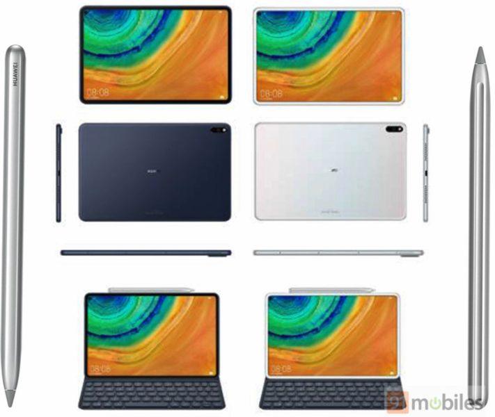 Huawei MatePad Pro Design