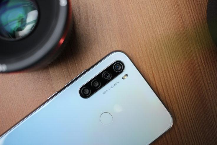 Redmi Note 8 Smartphone quad camera top