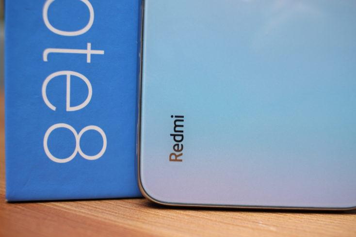 Redmi Smartphone back Redmi Logo