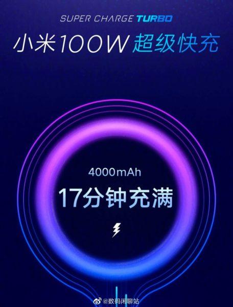Xiaomi SuperCharge Turbo 100W