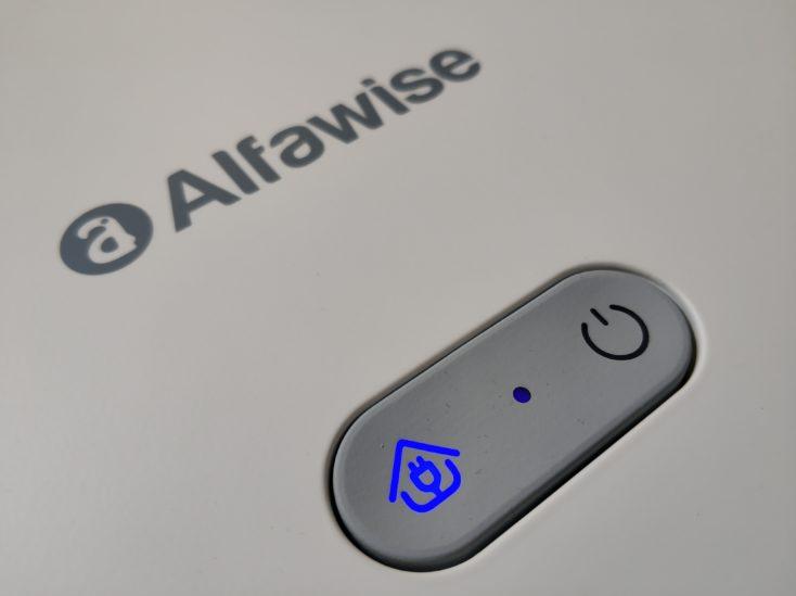 Alfawise V10 Max vacuum robot controls