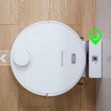 Alfawise V10 vacuum robot charging station