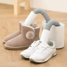 Deerma HX20 Shoe Dryer pair of shoes