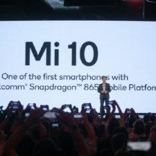 Xiaomi Mi 10 Teaser