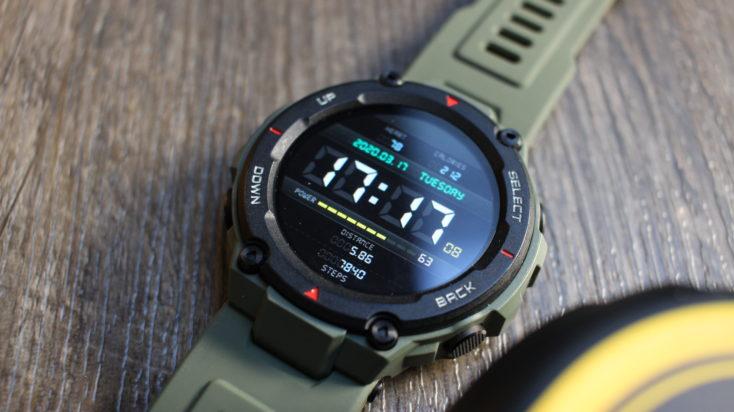 Huami Amazfit T-Rex Smartwatch Processing