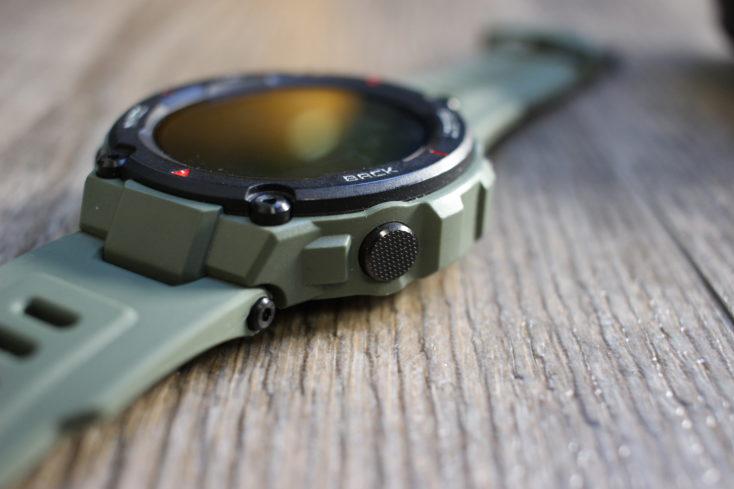 Huami Amazfit T-Rex Smartwatch function key