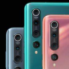 Xiaomi Mi 10 Quad camera colors