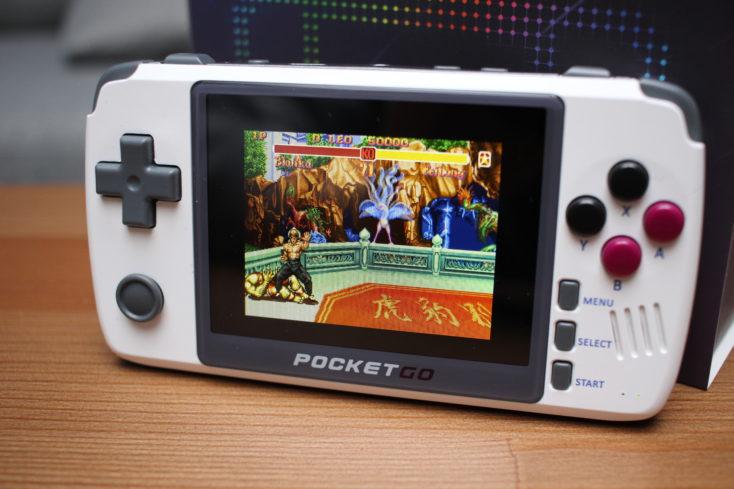PocketGo V2 Streetfighter II
