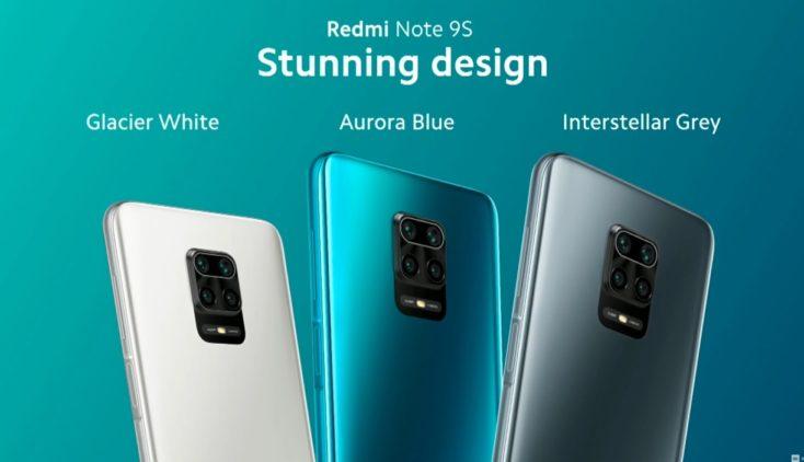 Redmi Note 9S Smartphone Colors