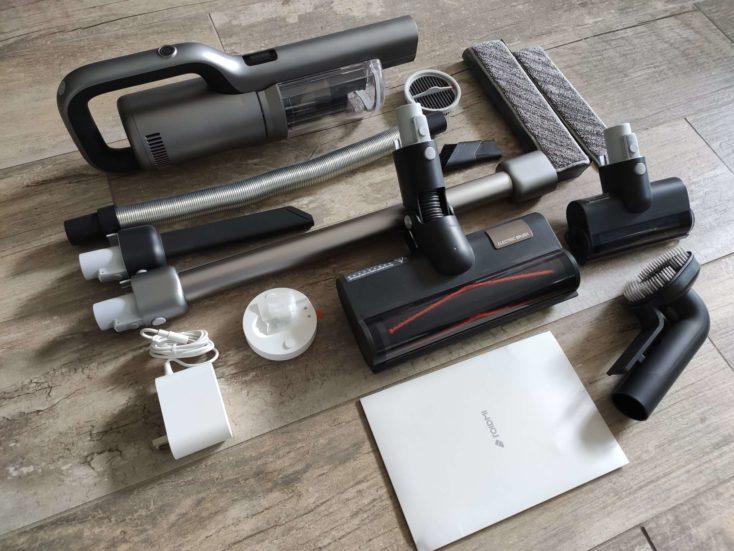 Roidmi NEX 2 Pro cordless vacuum cleaner Scope of delivery