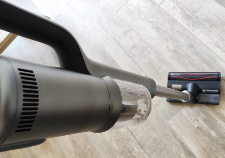 Roidmi NEX 2 Pro cordless vacuum cleaner performance right