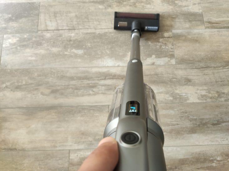 Roidmi NEX 2 Pro vacuum cleaner performance