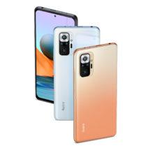 Redmi Note 10 Pro smartphone colors