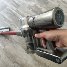 Dreame V11 cordless vacuum cleaner suction