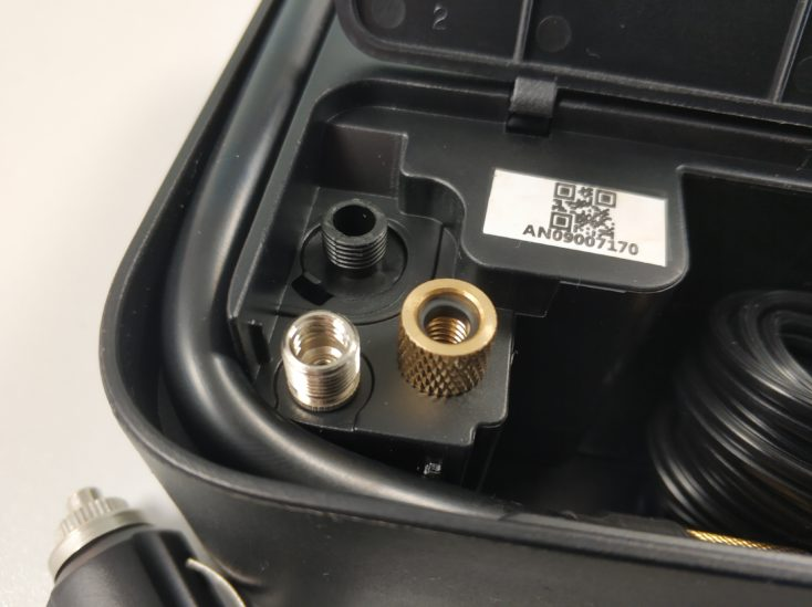Xiaomi 70Mai electric air pump compressor Connections