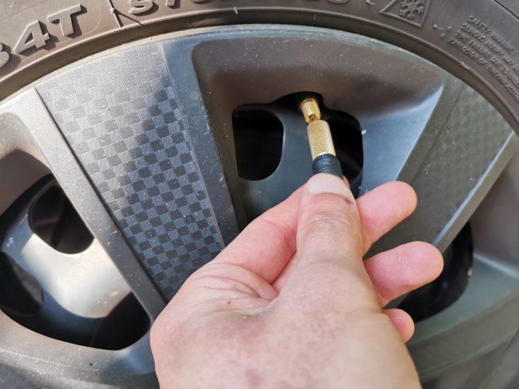 Xiaomi 70mai air pump compressor inflate tires