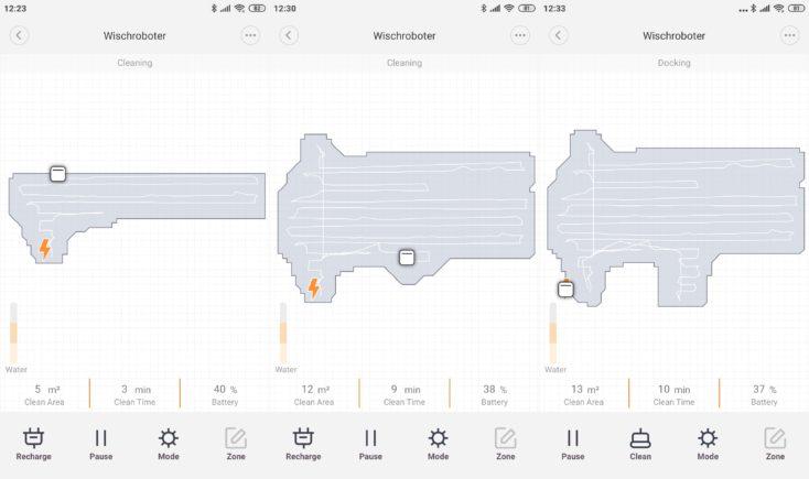 Xiaomi SWDK ZDG300 Wiping Robot App Mapping