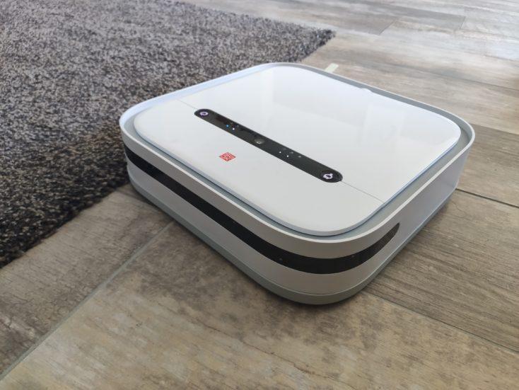 Xiaomi SWDK ZDG300 Wiping Robot Avoiding Carpet