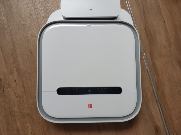 Xiaomi SWDK ZDG300 Wiping robot to charging station Charging contacts
