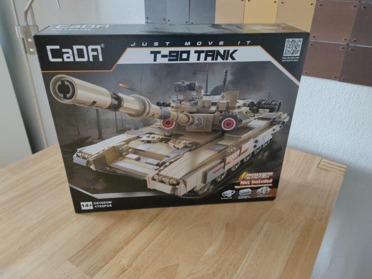 CaDA T90 tank C61003W box