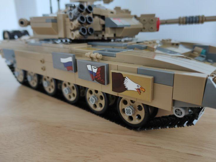 CaDA T90 tank C61003W sticker right side